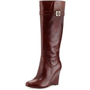 Elaine Turner Jayden Wedge Boot Size 7
